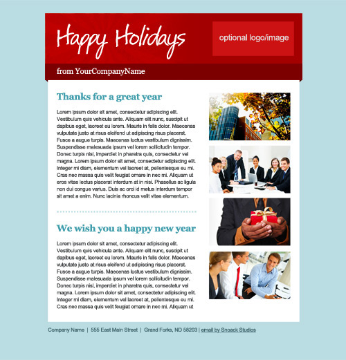 Email Your Holiday Cards With Snoack Studios | Snoack Studios Blog