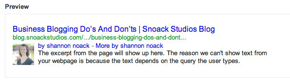 google-authorship-test