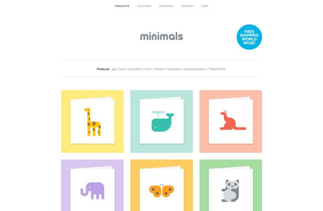 web-minimals